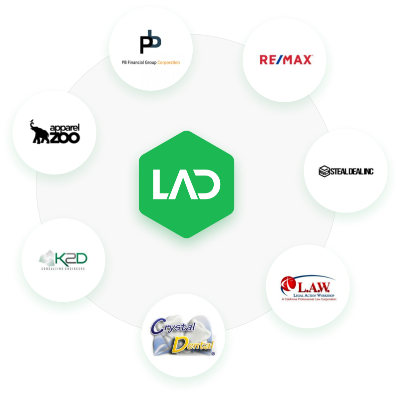 LAD Solutions Web Development & SEO Clients