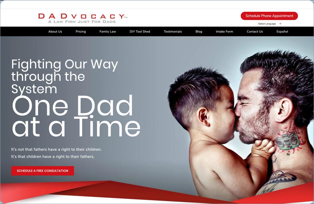 Case Study - DADvocacy™ Law Firm